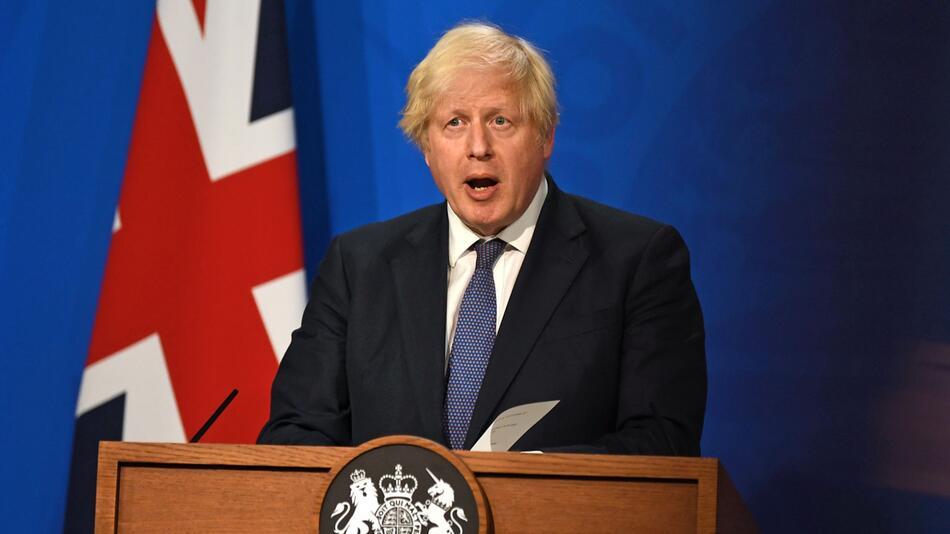 Großbritanniens Premierminister Johnson