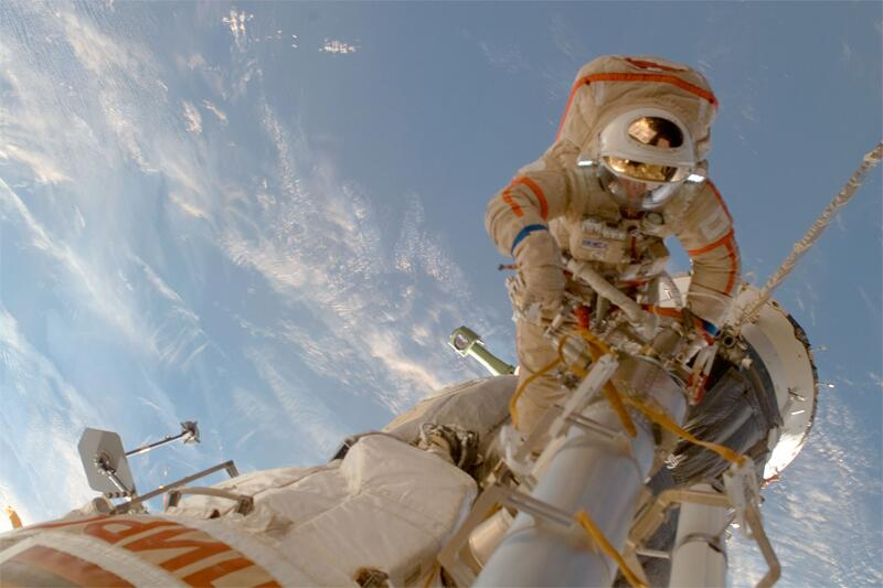 Bild zu Kosmonaut Sergei Volkov