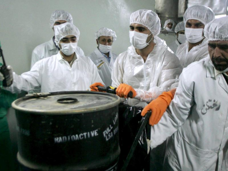 Bild zu Atomwissenschaftler im Iran
