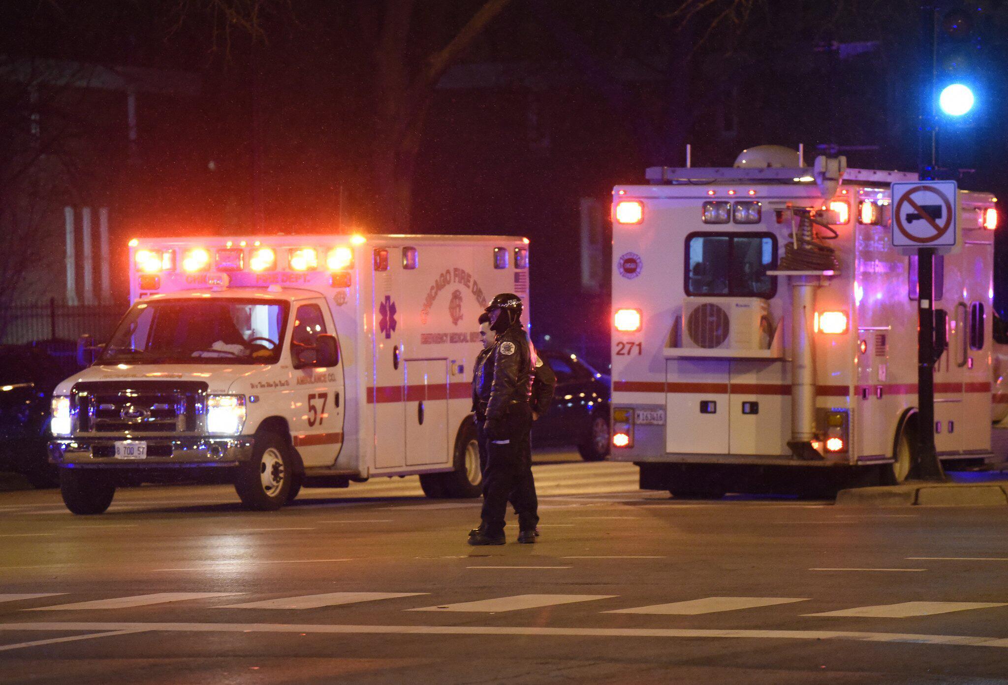 Bild zu Schüsse an Krankenhaus in Chicago