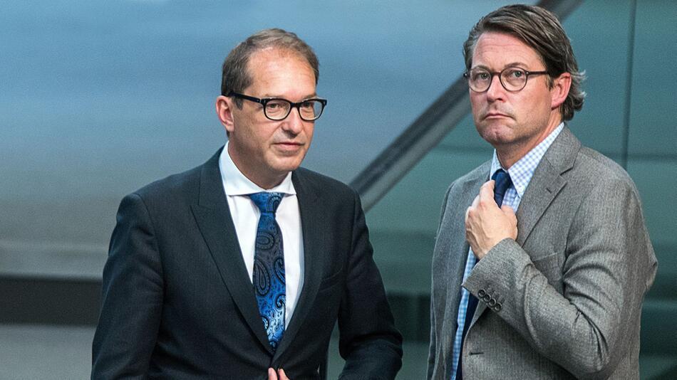 Andreas Scheuer und Alexander Dobrindt