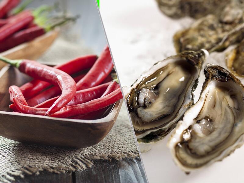 Bild zu Chili und Austern als Potenzmittel