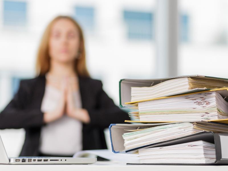 Bild zu Stressmanagement