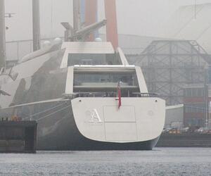 Mega sailing yacht 'Sailing Yacht A'