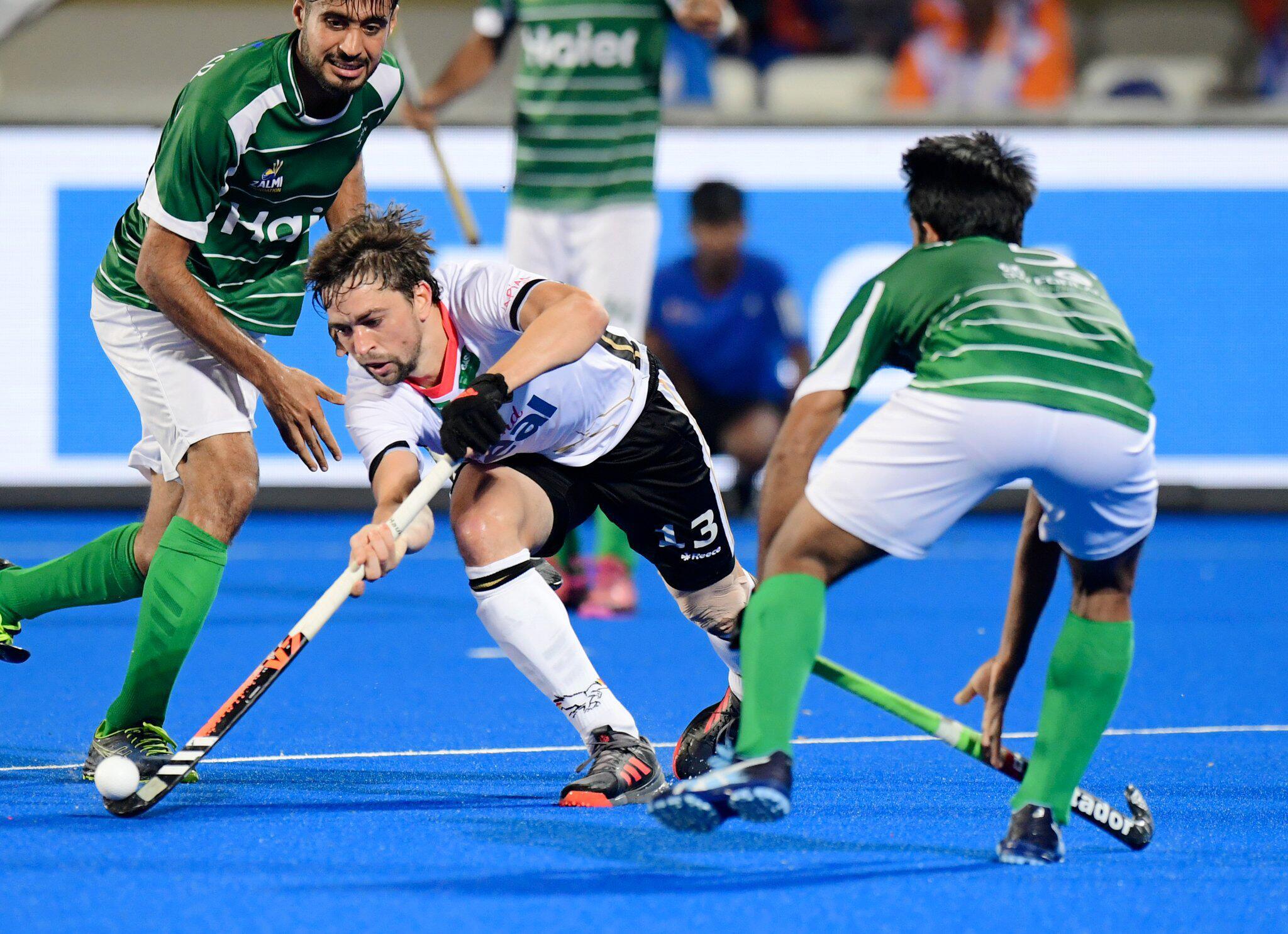 Bild zu Hockey, WM, Deutschland - Pakistan