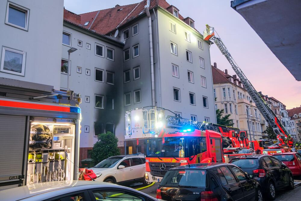 Explosion in Wohnhaus in Hannover