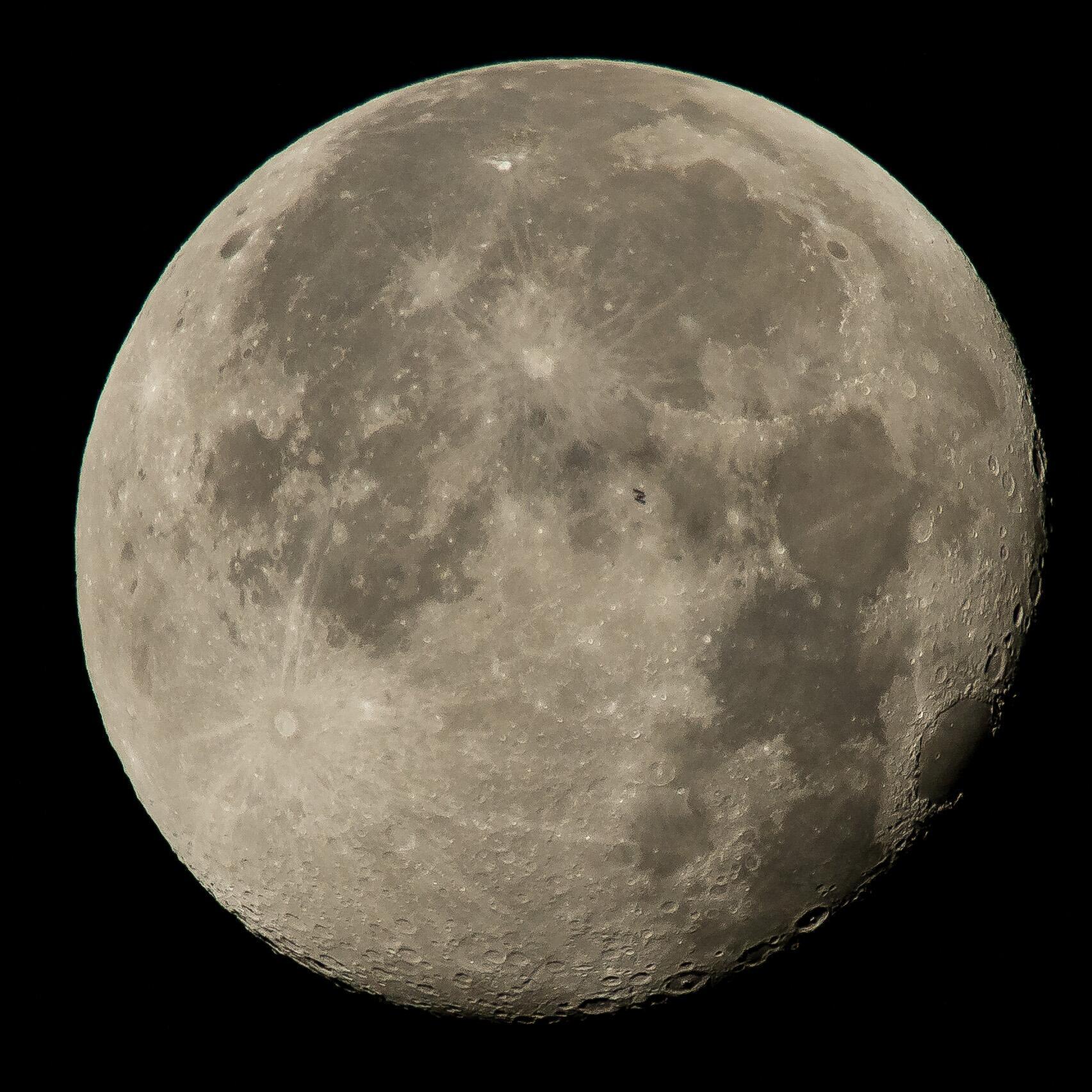 Bild zu Mond