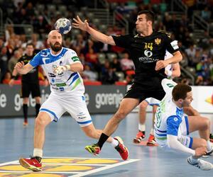 Handball-EM: Montenegro - Slowenien