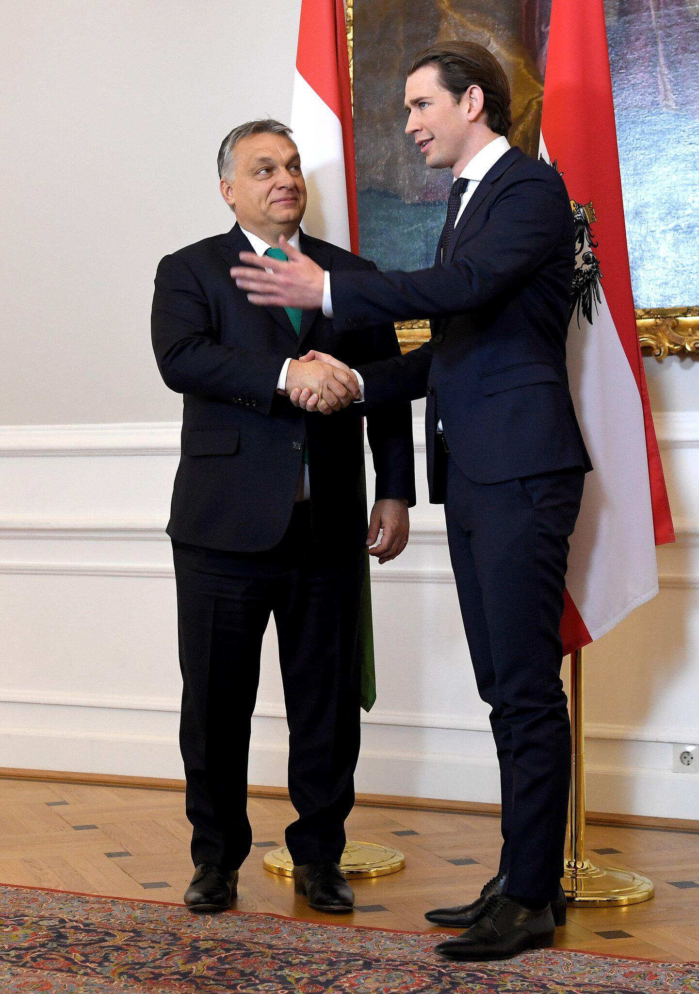 Bild zu Ungarns Premier in Österreich