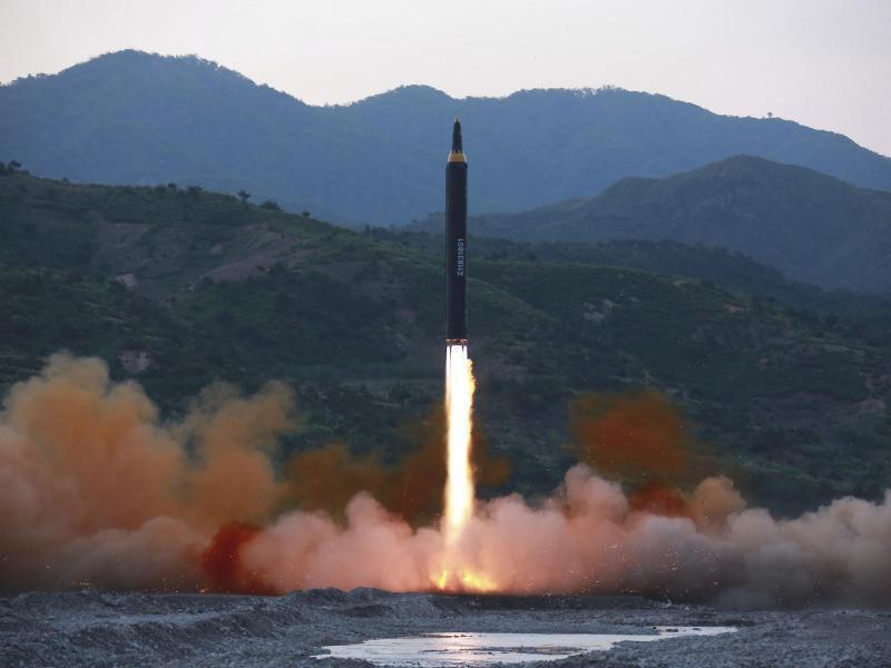 Bild zu Nordkoreanischer Raketentest