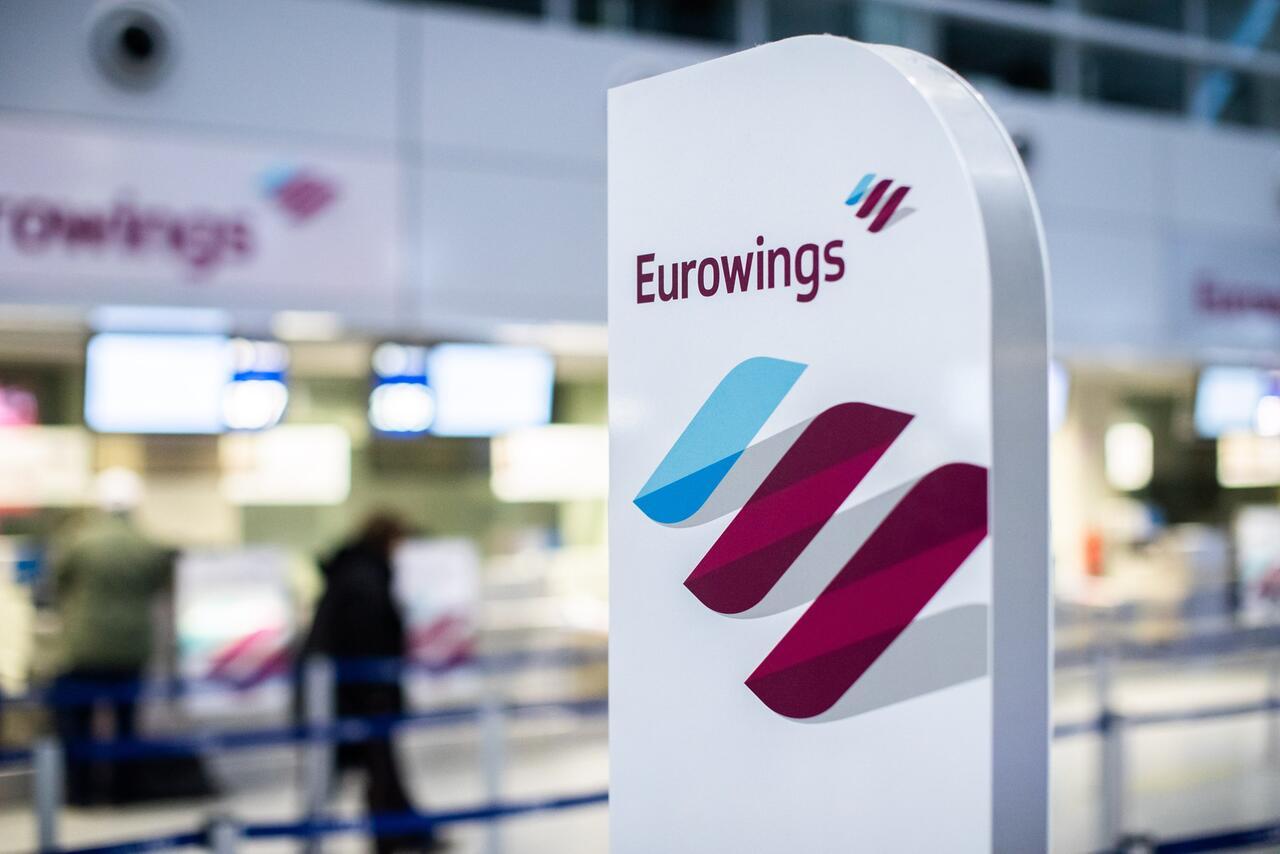Bild zu Warnstreik bei Eurowings in Düsseldorf
