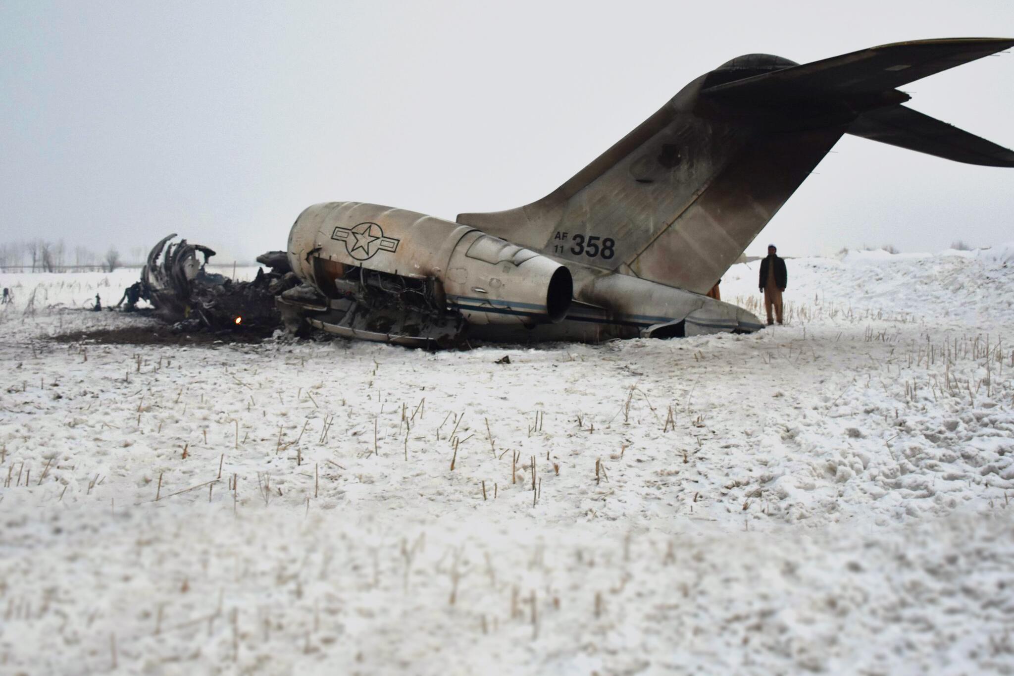 Bild zu Flugzeugabsturz in Afghanistan