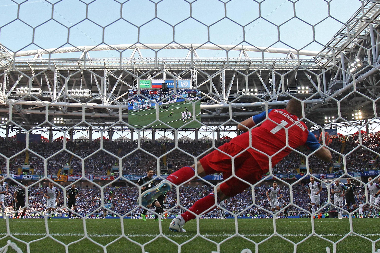 Bild zu Hannes Thór Halldórsson, Island, Argentinien, WM 2018