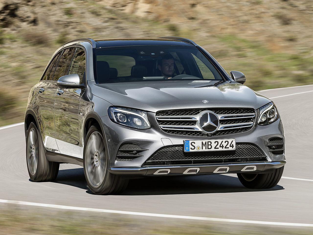 Bild zu Platz 14: Mercedes GLK/GLC