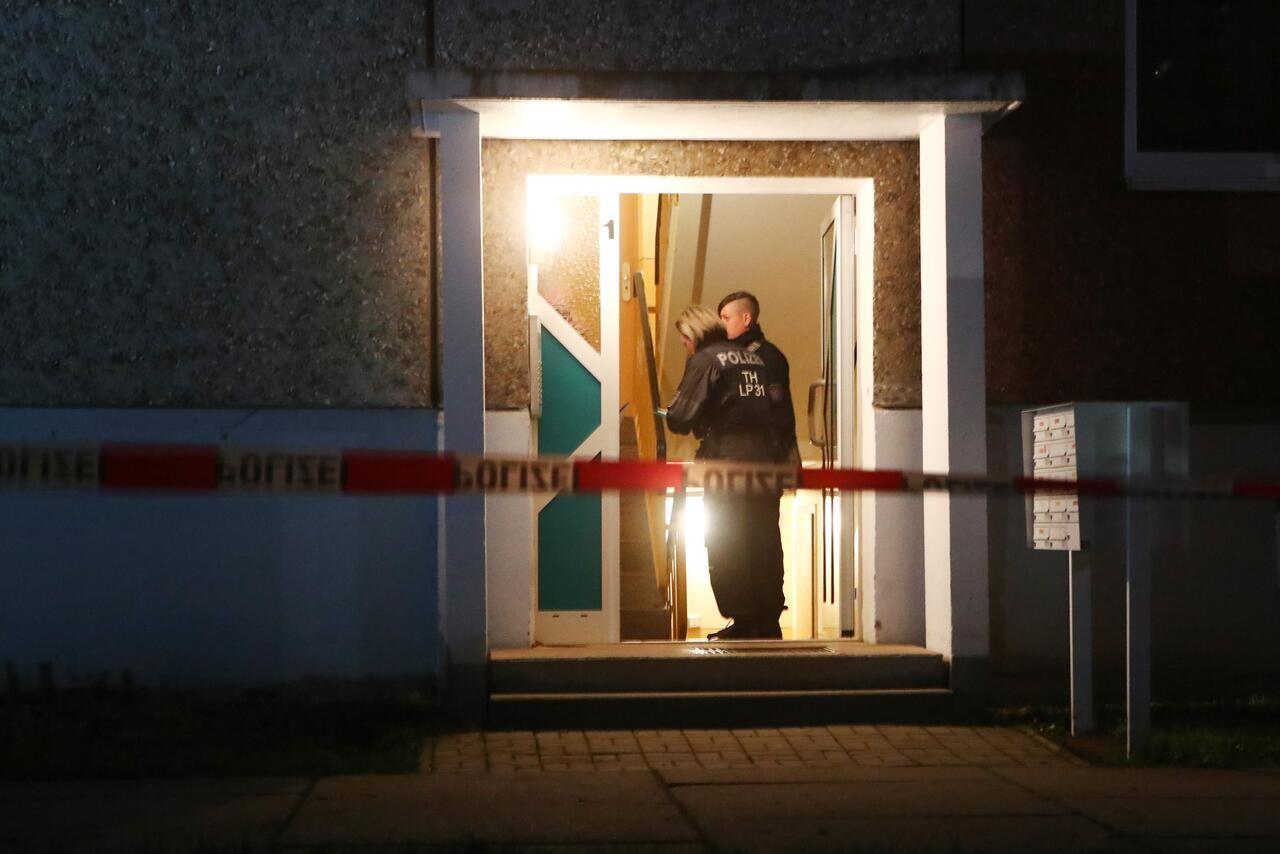 Bild zu Vier Tote in Jena gefunden