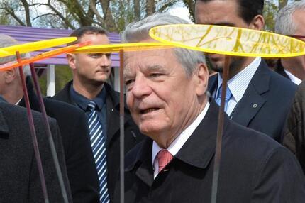 Eröffnung der Bundesgartenschau (Buga) 2015