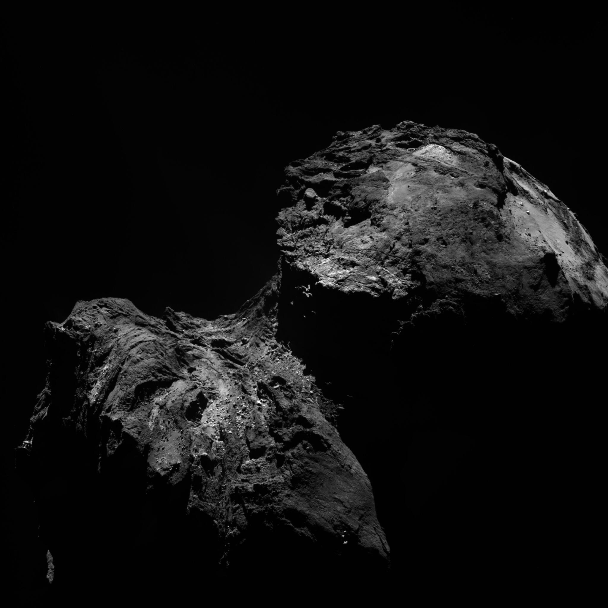 Bild zu Rosetta, Komet
