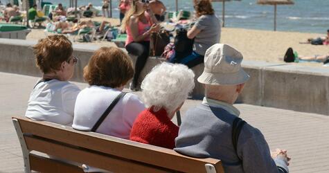 Senioren in Spanien