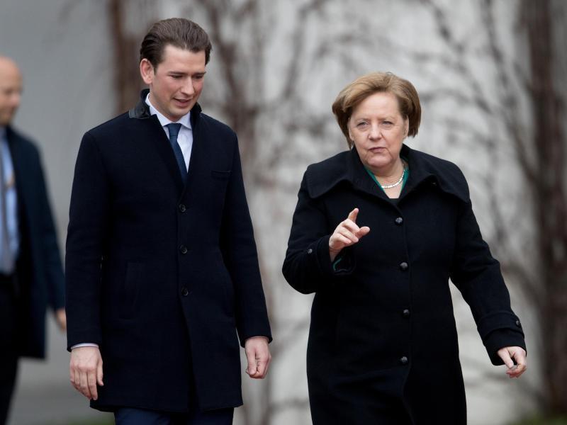 Bild zu Österreichischer Bundeskanzler in Berlin