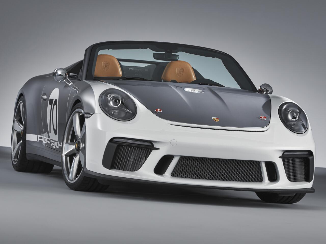 Bild zu Porsche 911 Speedster Concept: So schön soll der limitierte Zweisitzer werden