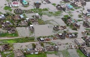 Zyklon in Mosambik