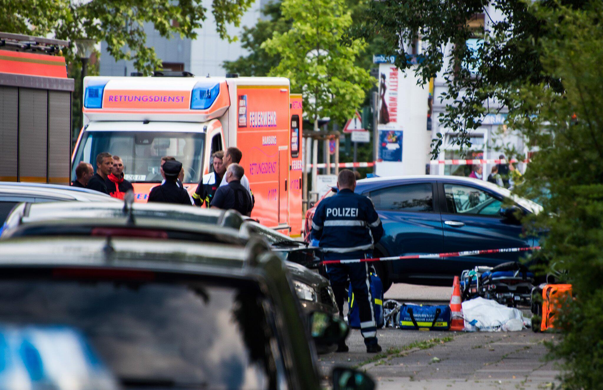 Bild zu Mann in Hamburg-Lohbrügge erschossen