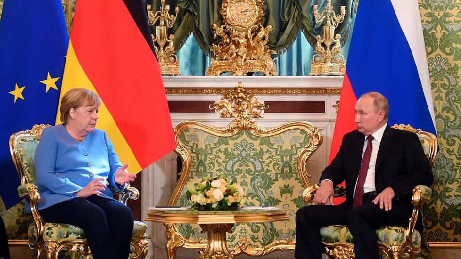 Bundeskanzlerin Merkel in Russland