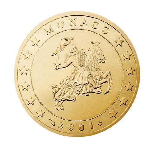 Bild zu 50-Cent-Münze aus Monaco