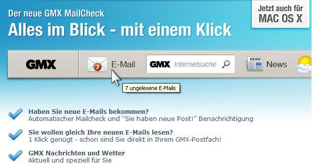 Die neue GMX MailCheck | GMX