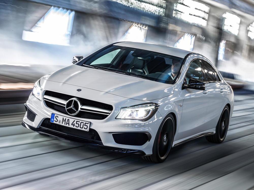 Bild zu Mercedes-AMG CLA 45