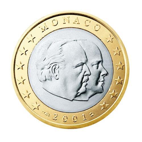 Bild zu 1-Euro-Münze aus Monaco