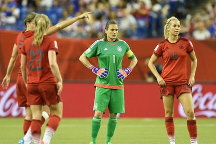 Deutschland, USA, Frauen-WM 2015