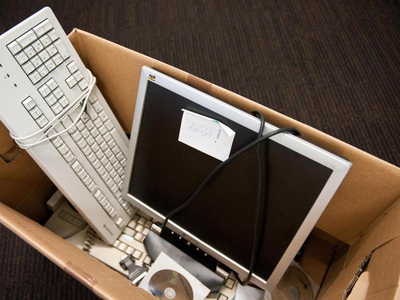 Bild zu Ausrangierter PC