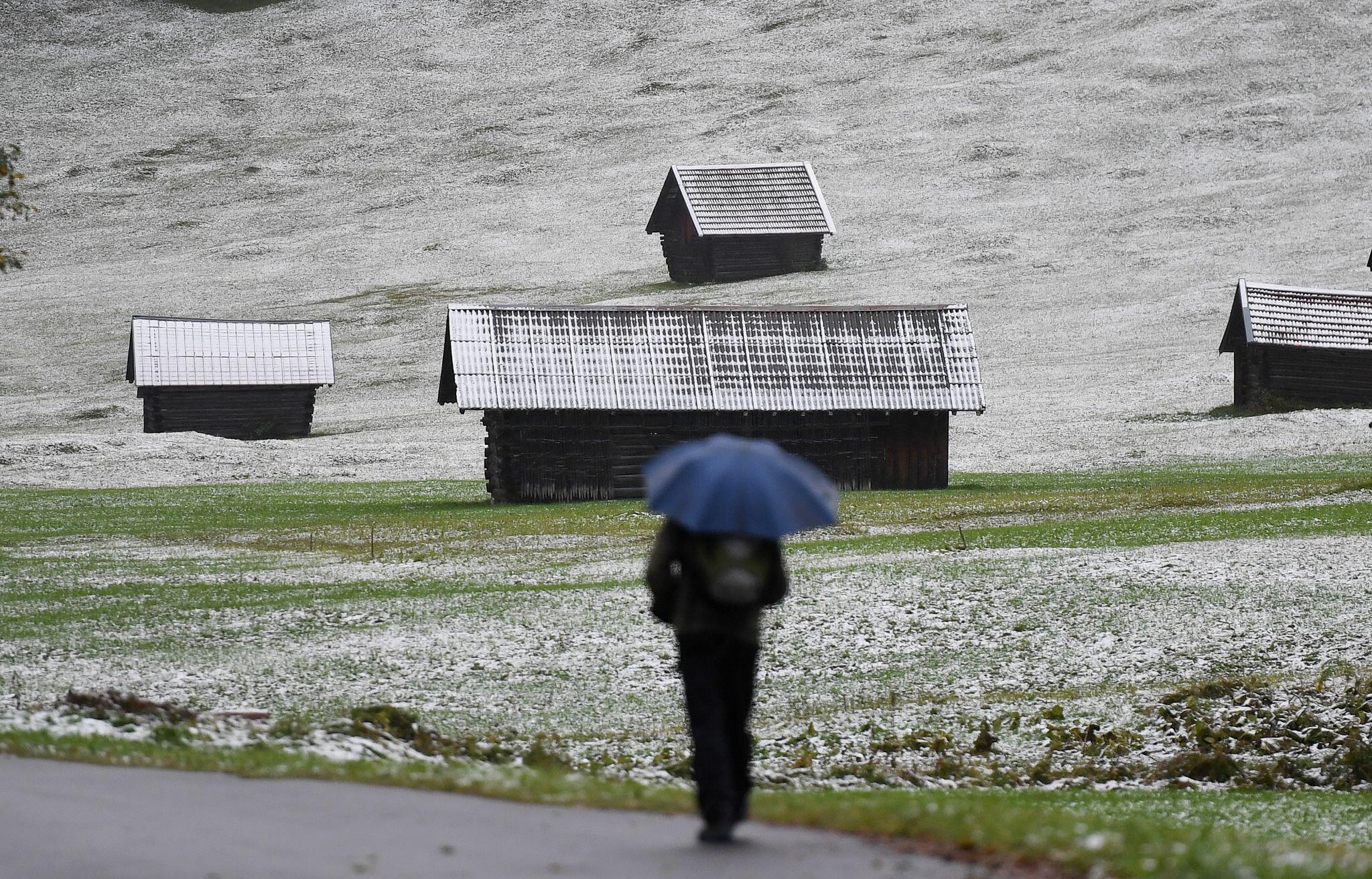 Bild zu Temperatursturz in Bayern