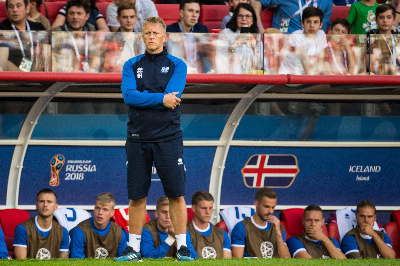 Bild zu Heimir Hallgrímsson, Island, Argentinien, WM 2018