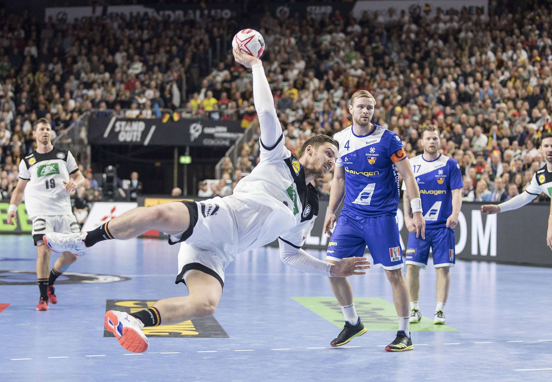 Bild zu Handball, WM, Deutschland, Hauptrunde, Island
