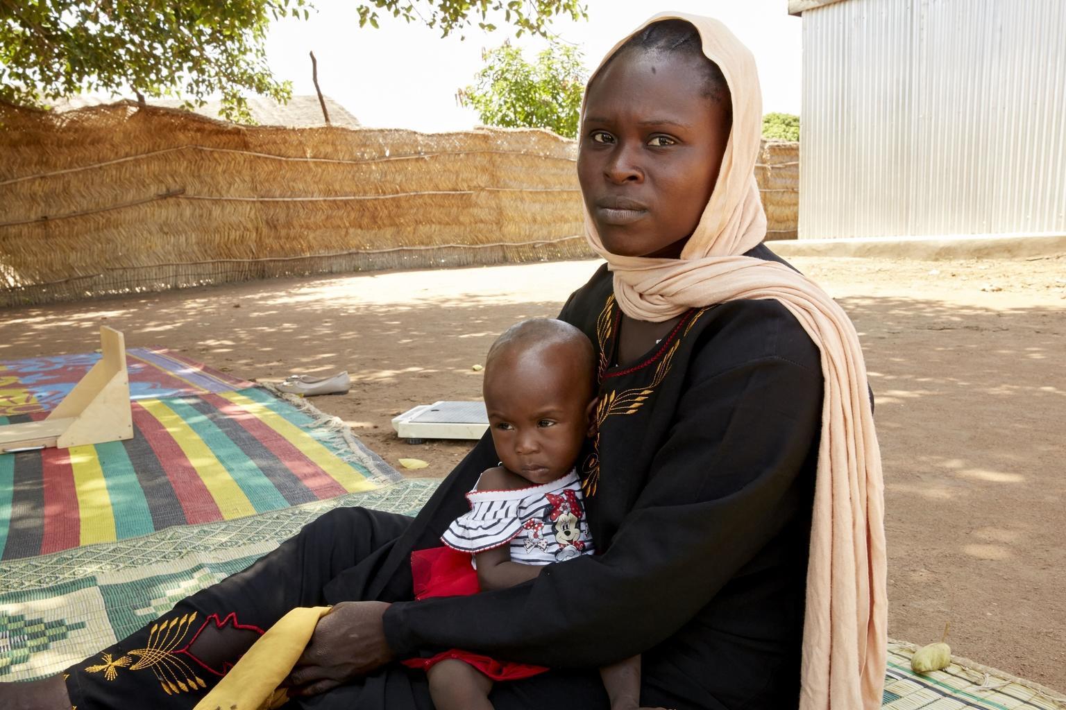 Bild zu Amira, Südsudan, Mangelernährung
