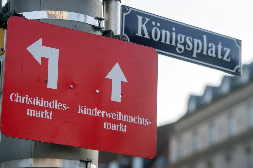 Trauer Königsplatz Augsburg