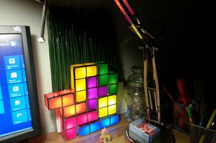 Tetris-Lampe