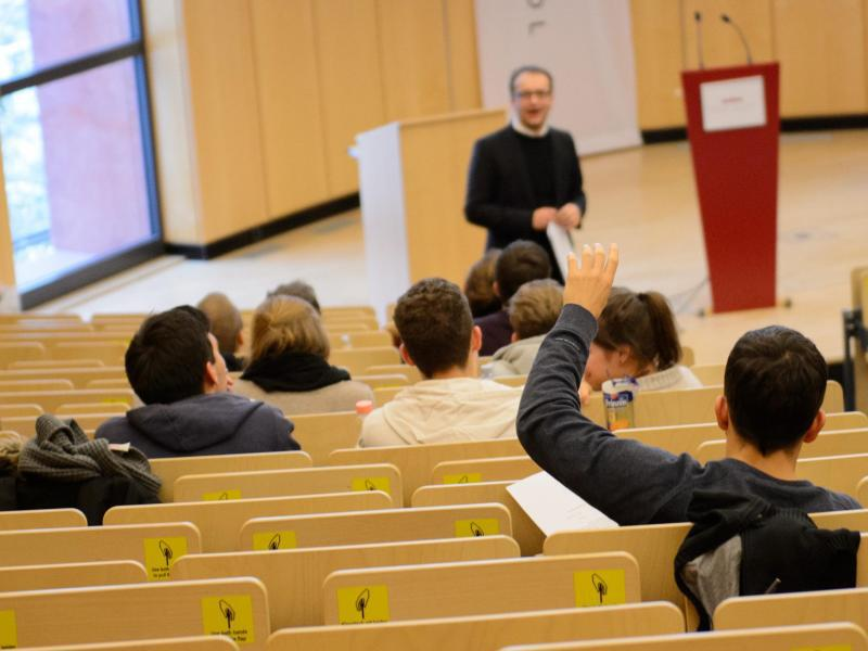 Bild zu Hörsaal der Bucerius Law School