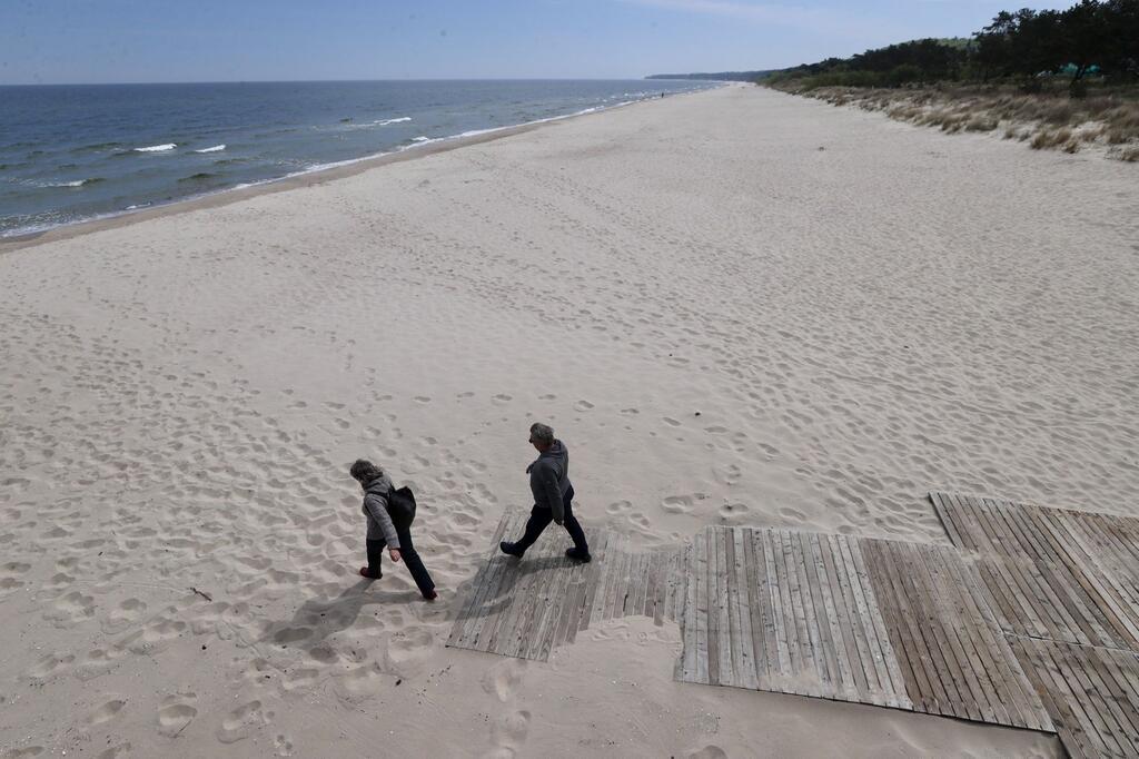 Coronavirus - Ostseeküste von Mecklenburg-Vorpommern