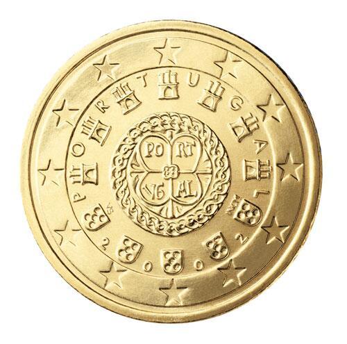 Bild zu 50-Cent-Münze aus Portugal