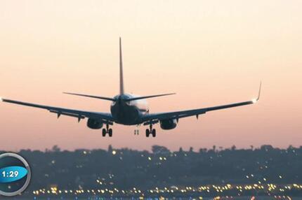 Wissenscountdown: Pilot ausgesperrt aus Kabine