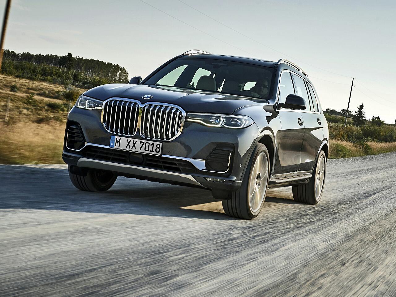 Bild zu Der neue BMW X7: So luxuriös ist das erste XXL-SUV aus München