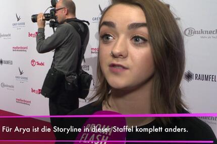 """Game of Thrones""""-Staffel: Maisie Williams verrät Details!"""