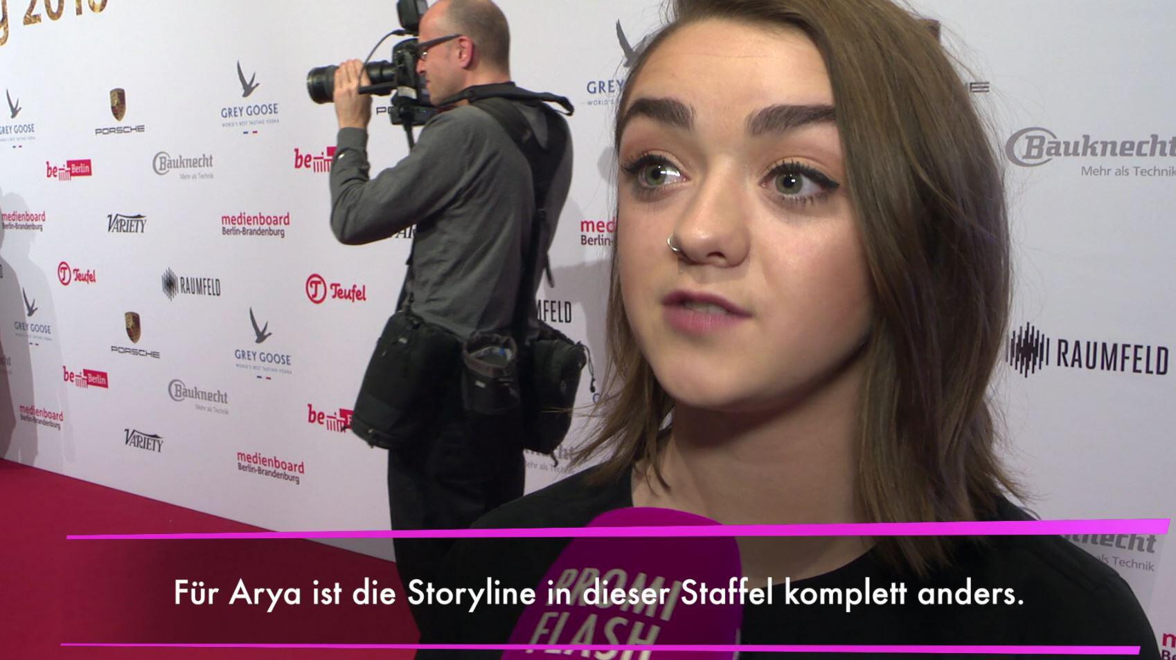 """Bild zu Game of Thrones""""-Staffel: Maisie Williams verrät Details!"""