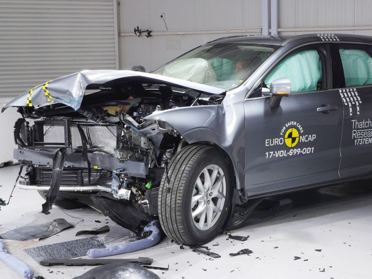 Bild zu Volvo XC60 Crashtest