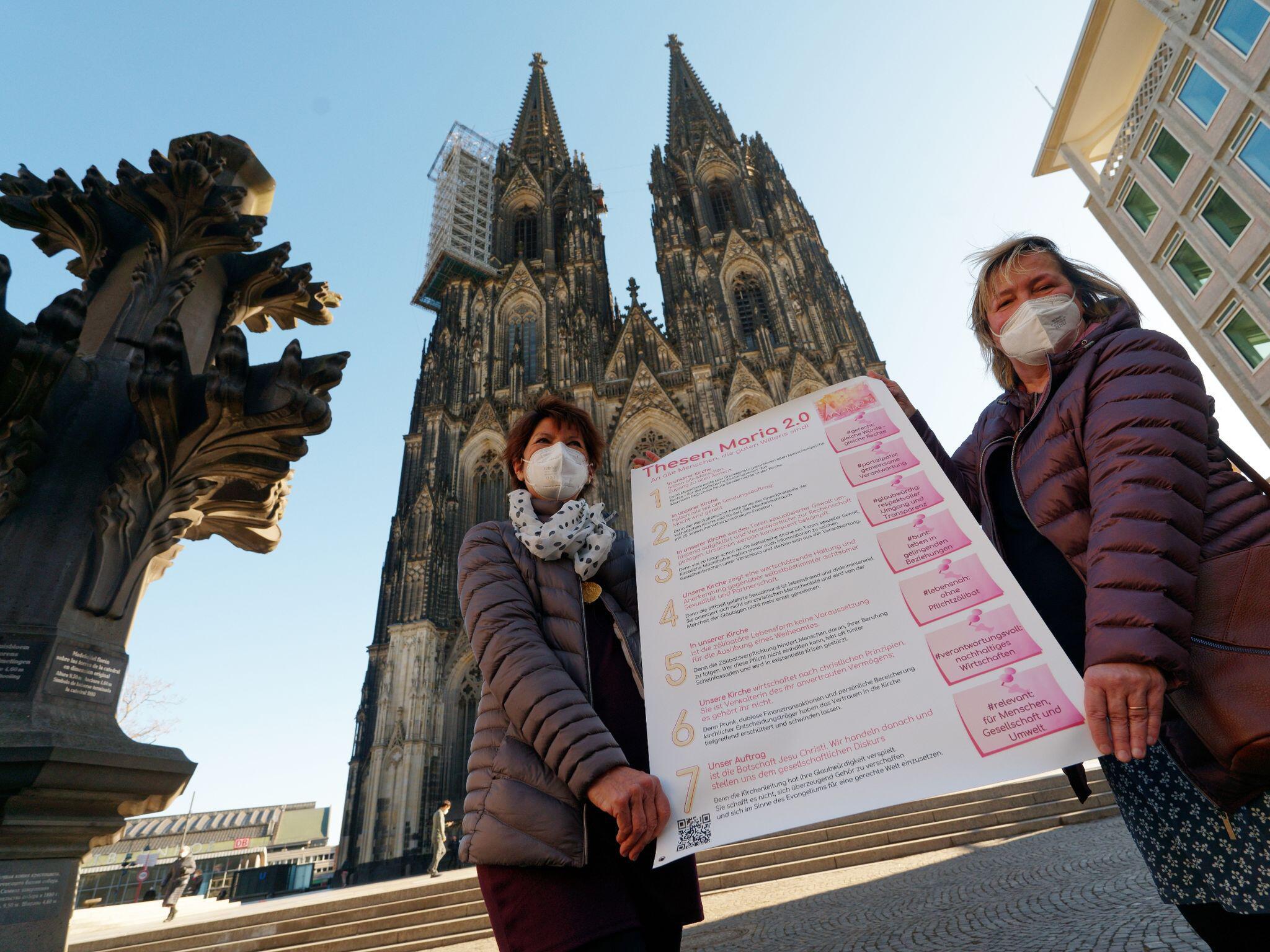 Bild zu Reforminitiative, Maria 2.0, Köln, Thesen, Dom