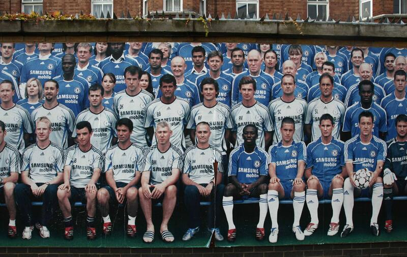 Bild zu Eine Mauer für Mourinho