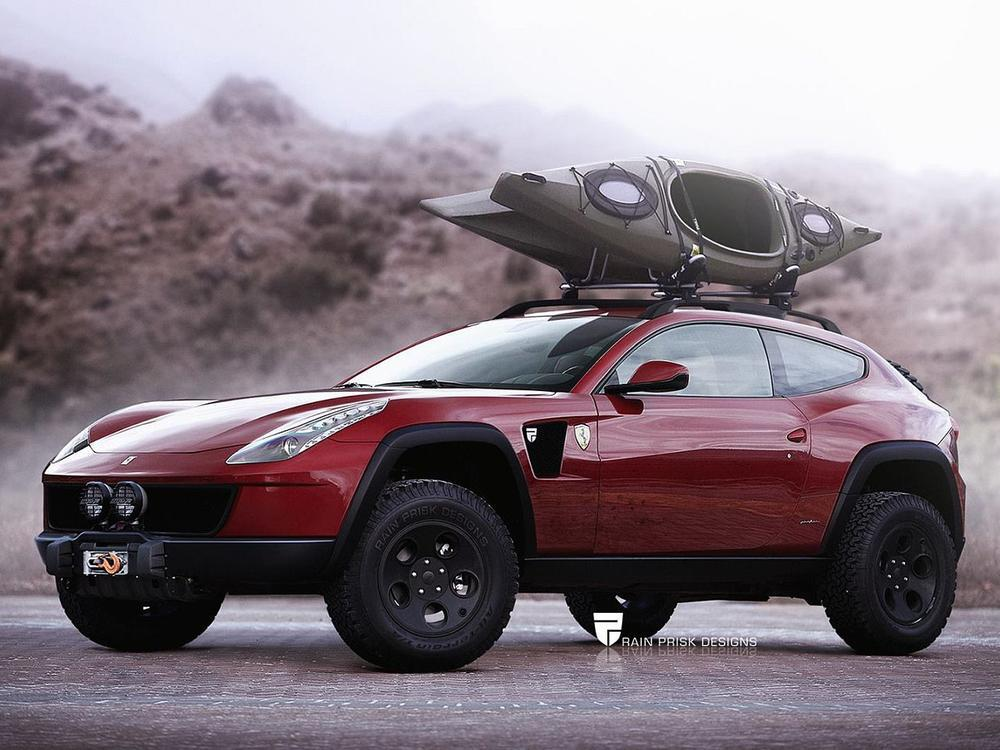 Bild zu Ferrari-SUV